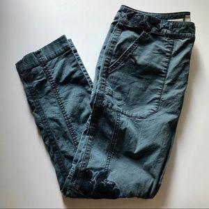 Anthropologie Hei Hei Wanderer Cargo Pants Blue